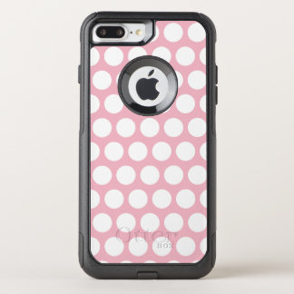 Create Your Own White Polka Dot OtterBox Commuter iPhone 8 Plus/7 Plus Case