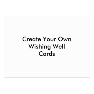 Create Your Own Wishing Well Cards Pack Of Chubby Business Cards