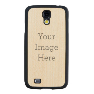 Create Your Own Carved® Maple Galaxy S4 Slim Case