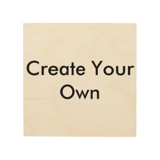 Create Your Own Wood Canvases