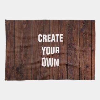 Create Your Own Wooden Floor Look Tea Towel