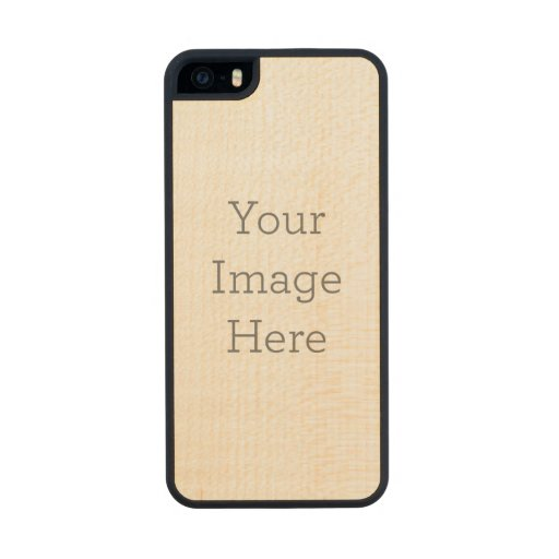 Create Your Own Wooden iPhone 5S Case Carved® Maple iPhone 5 Case
