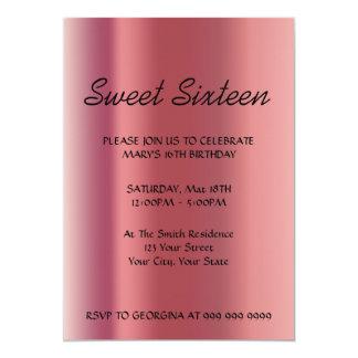 Create Your Sweet 16 Invitation