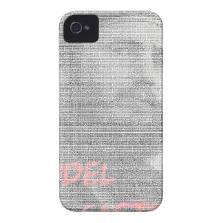 Created with the word Fidel Alejandro Castro Ruz. Case-Mate iPhone 4 Cases