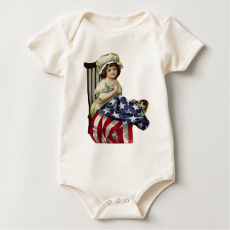 Creating the Flag Baby Bodysuit