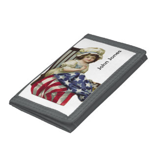 Creating the Flag Tri-fold Wallet