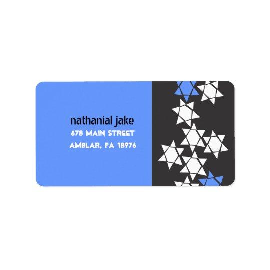 Creation Bar Bat Mitzvah Print your own label Address Label