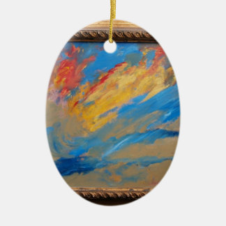 Creation Ceramic Oval Decoration