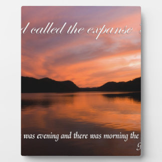 Creation Display Plaques
