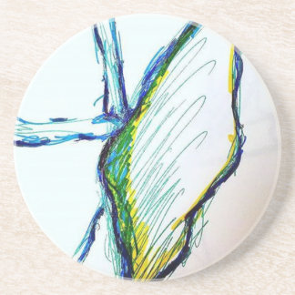 Creation is Liberation Beverage Coasters