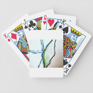 Creation is Liberation Bicycle Playing Cards