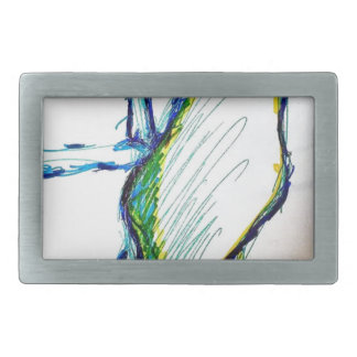 Creation is Liberation Rectangular Belt Buckles