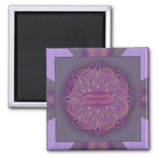 Creation Mandala Square Magnet