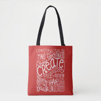 Creation Motivation Tote Bag
