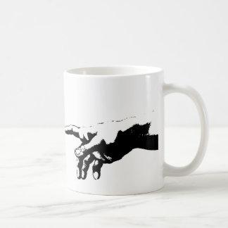 Creation of Adam Basic White Mug