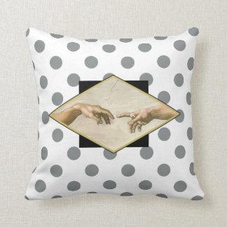 Creation of Adam Polka Dots Cushions