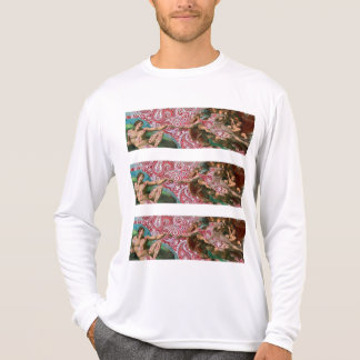 Creation of Adam Red Paisley T-Shirt