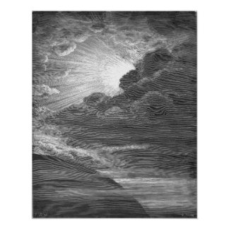 Creation of Light, by Gustave Doré Poster