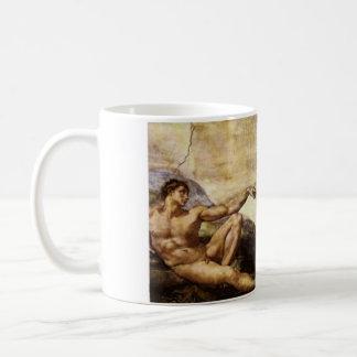 Creation Of Man Basic White Mug
