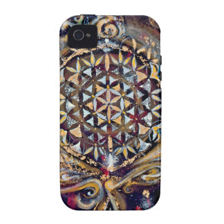 Creation Time 'Cosmic Ocean' Selection Vibe iPhone 4 Case