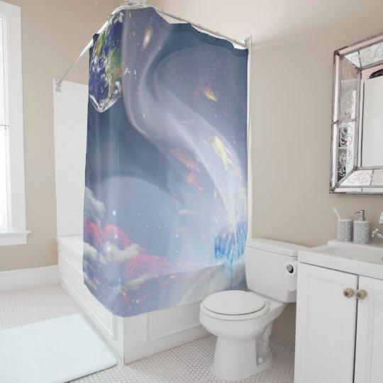 creation ver 2 shower curtain