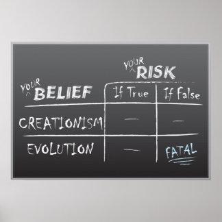 Creation vs. Evolution Poster