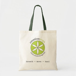 Creation Yoga - breath/move/heal Tote Bag