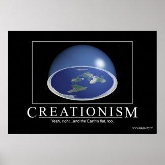 """Creationism"" (Un-) Inspirational Poster"