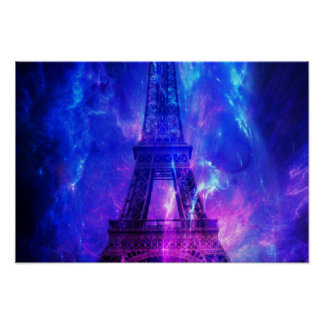 Creation's Heaven Paris Amethyst Dreams Poster