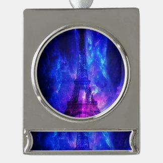 Creation's Heaven Paris Amethyst Dreams Silver Plated Banner Ornament