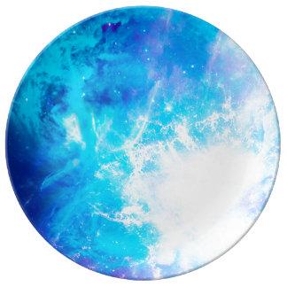 Creation's Heaven Plate Porcelain Plate