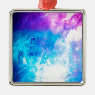 Creation's Heaven Silver-Colored Square Decoration