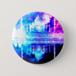Creation's Heaven Taj Mahal Dreams 6 Cm Round Badge