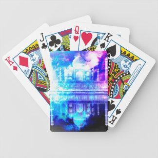 Creation's Heaven Taj Mahal Dreams Bicycle Playing Cards