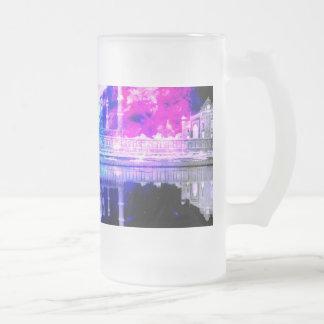 Creation's Heaven Taj Mahal Dreams Frosted Glass Beer Mug