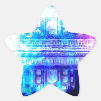 Creation's Heaven Taj Mahal Dreams Star Sticker