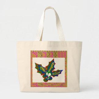 Creative Arts : HOLLY Graphics Canvas Bag
