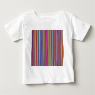 Creative backgrounds colorful lines stripes graphi baby T-Shirt