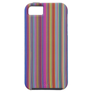 Creative backgrounds colorful lines stripes graphi iPhone 5 cover