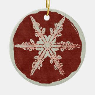 Creative Christmas Products Round Ceramic Decoration