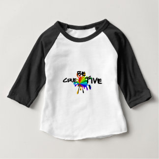 Creative colorful art baby T-Shirt