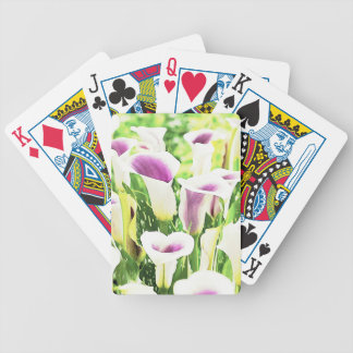 Creative colors Callas Bicycle Playing Cards