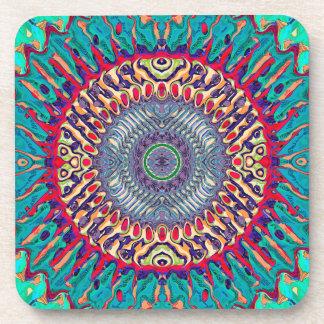 Creative Concentric Abstract Coaster