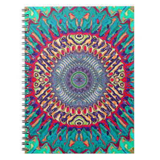 Creative Concentric Abstract Notebook
