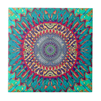 Creative Concentric Abstract Tile