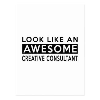 CREATIVE CONSULTANT DESIGNS POSTCARD