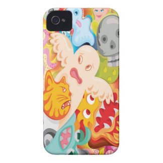 creative design for mobile case sublimation printi iPhone 4 Case-Mate cases