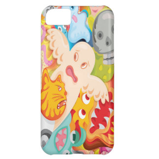creative design for mobile case sublimation printi iPhone 5C case
