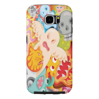 creative design for mobile case sublimation printi samsung galaxy s6 cases