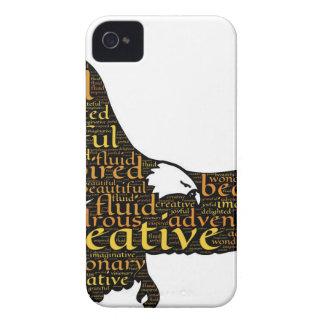 Creative eagle iPhone 4 cover
